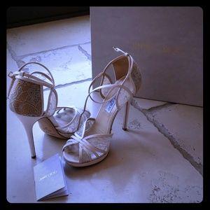 Jimmy Choo wedding shoes!